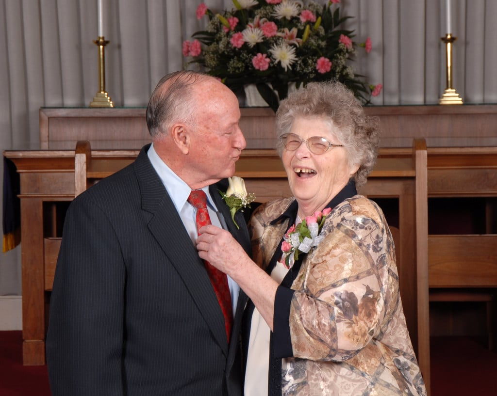 Norman and Donna Mosey, February 7, 2007