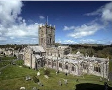 St Davids Cathedral, where Martha was baptised