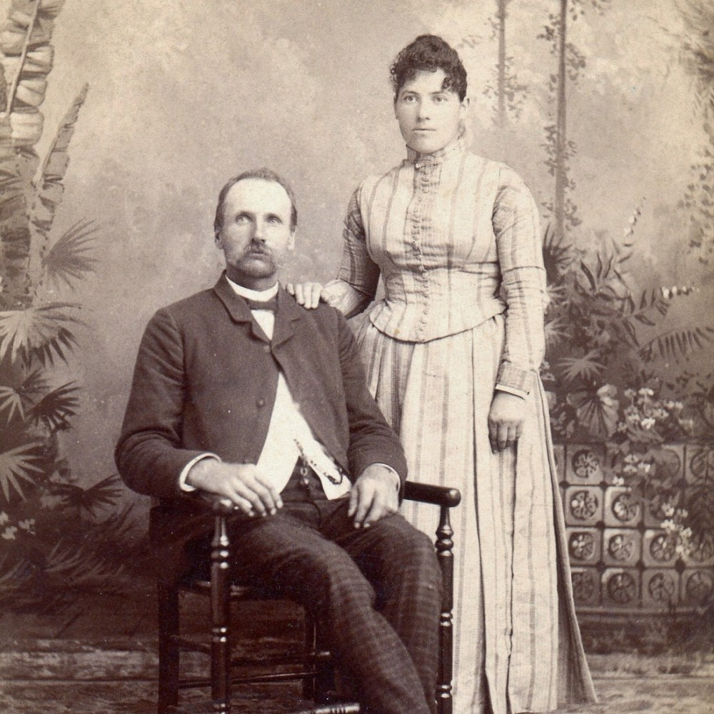 Thomas Garver and Ellen Heilman Garver
