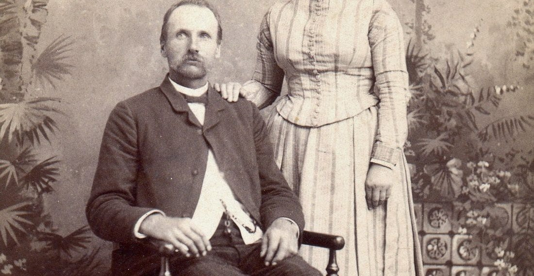 Thomas Garver and Ellen Heilman Garver