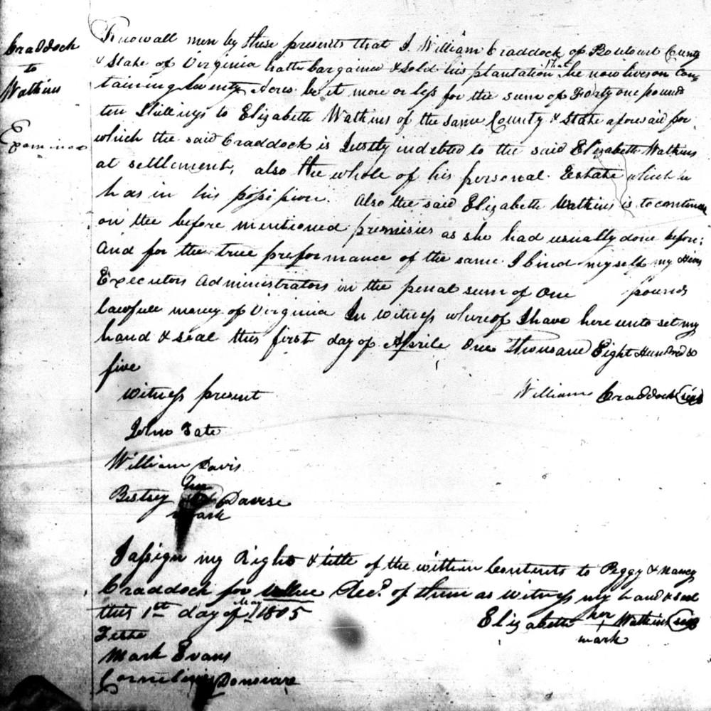 craddock watkins documen