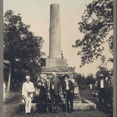 Meriwether Lewis National Monument on the Natchez Trace Parkway | Tennessee State Library and Archives