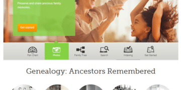 familysearch.org homepage