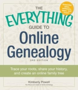 everything guide to online genealogy
