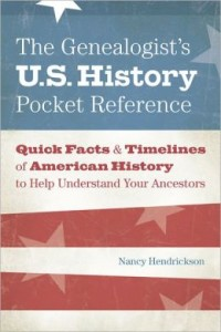 the genealogist's us history pocket reference