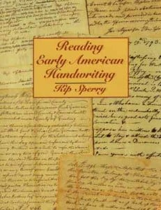 reading early american handwriting