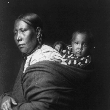 Mother and child--Ogalala Creator(s): Curtis, Edward S., 1868-1952, photographer Date Created/Published: c1905.