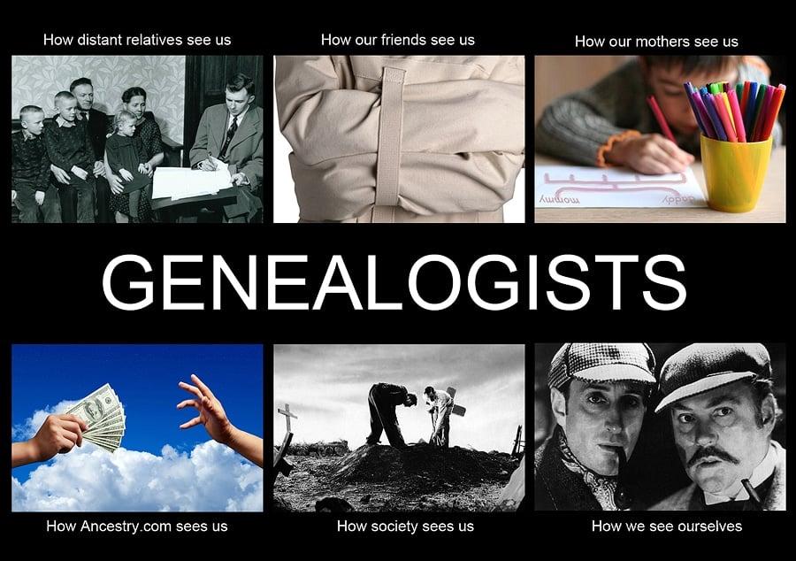 genealogy humor, genealogists