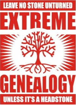 genealogy humor no stone unturned