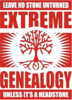 genealogy humor no stone unturned