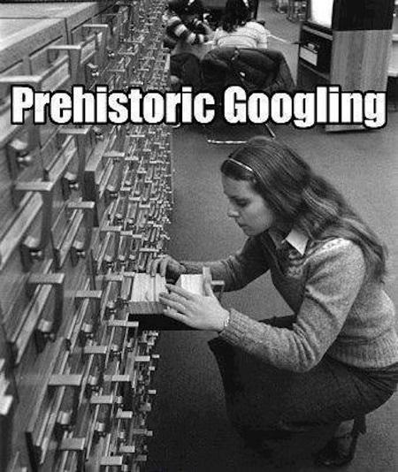 genealogy humor prehistoric googling