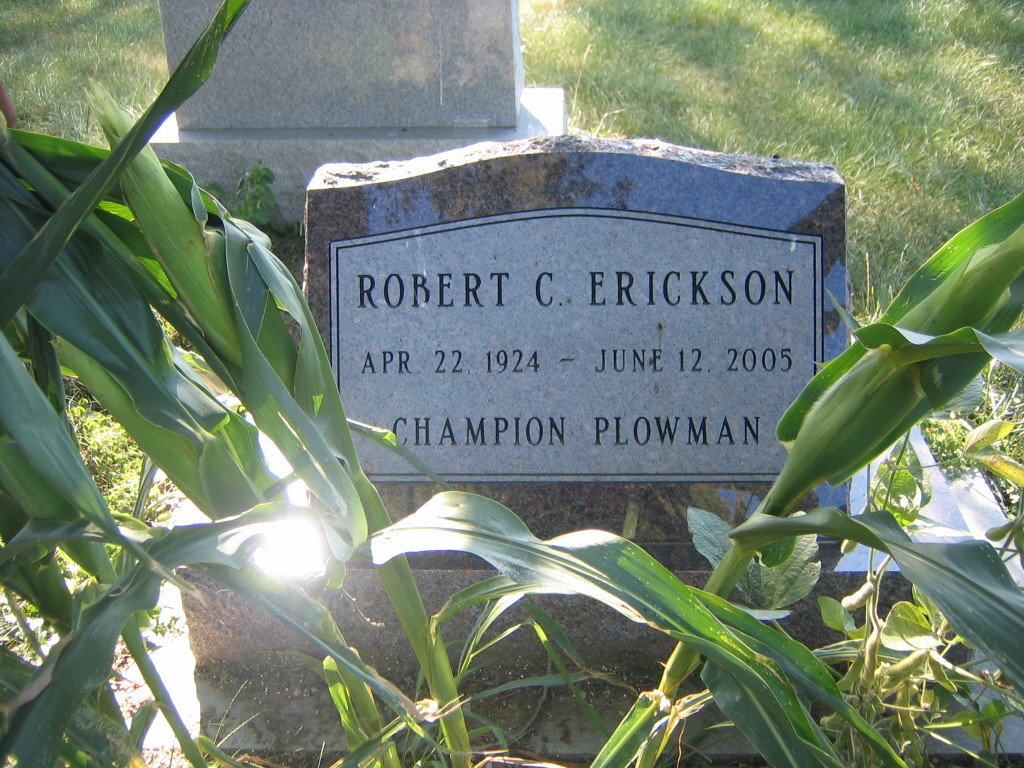 35 Plowman 3 - Gravestone, Robert C Erickson