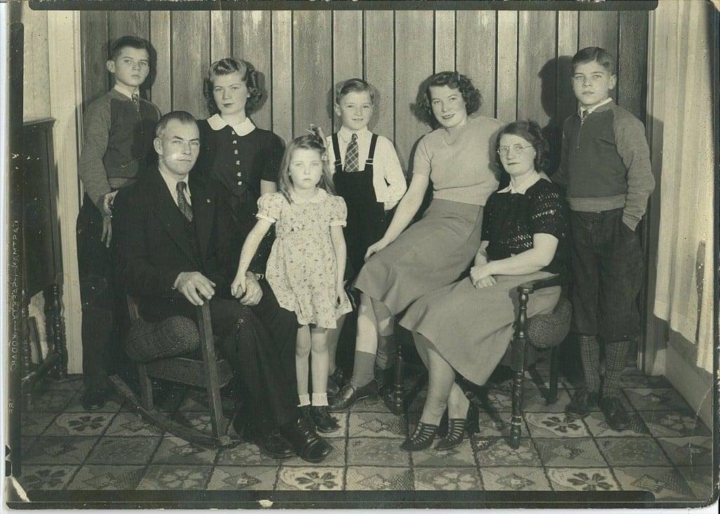 Palmer family portrait
