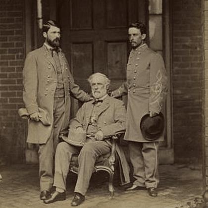 Robert E. Lee and Staff
