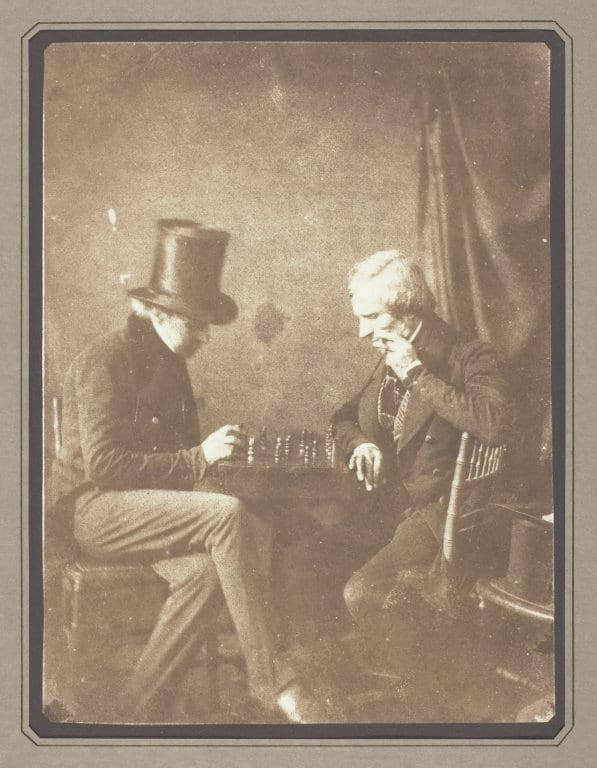 The_Chess_Players_by_Henry_Fox_Talbot_Salt_Print