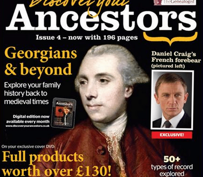 Discover Your Ancestors Magazine