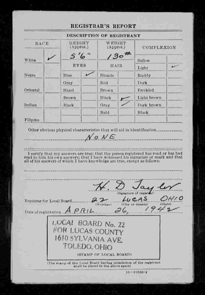 James_Smith_WWII_Draft_Page2