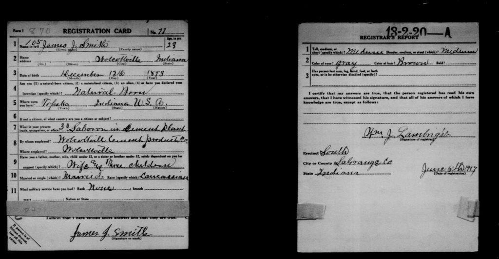 WWI_Draft_Card