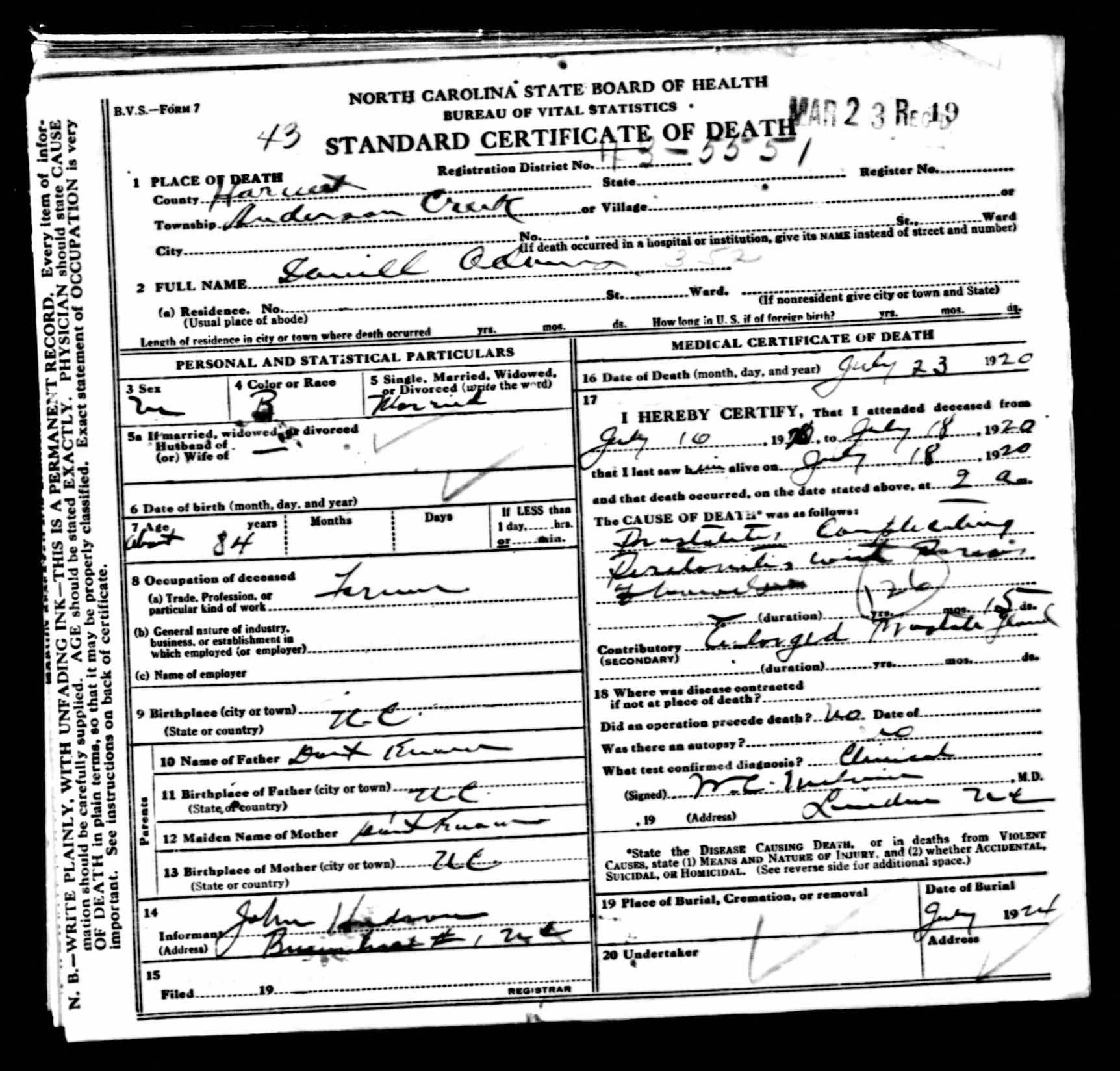 Icd codes on death certificates can tell you how your ancestors died a handwritten record even when you have been doing so for decades and how often indexes and transcriptions contain incorrect information aiddatafo Images