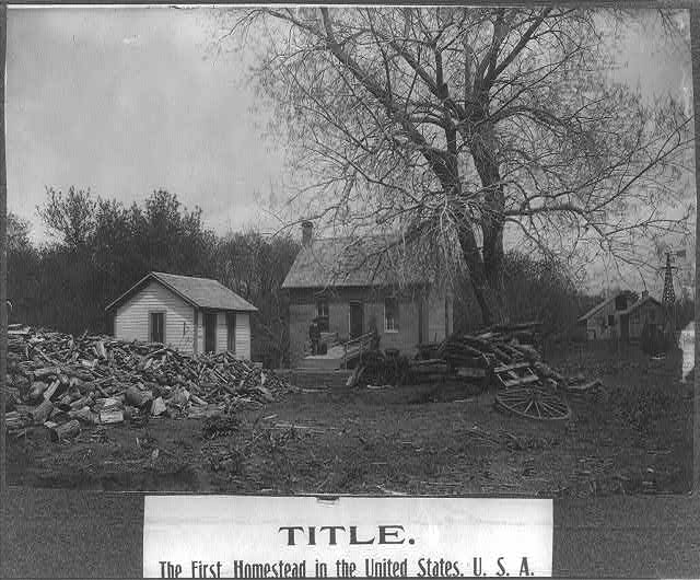 First Homestead Gage Nebraska