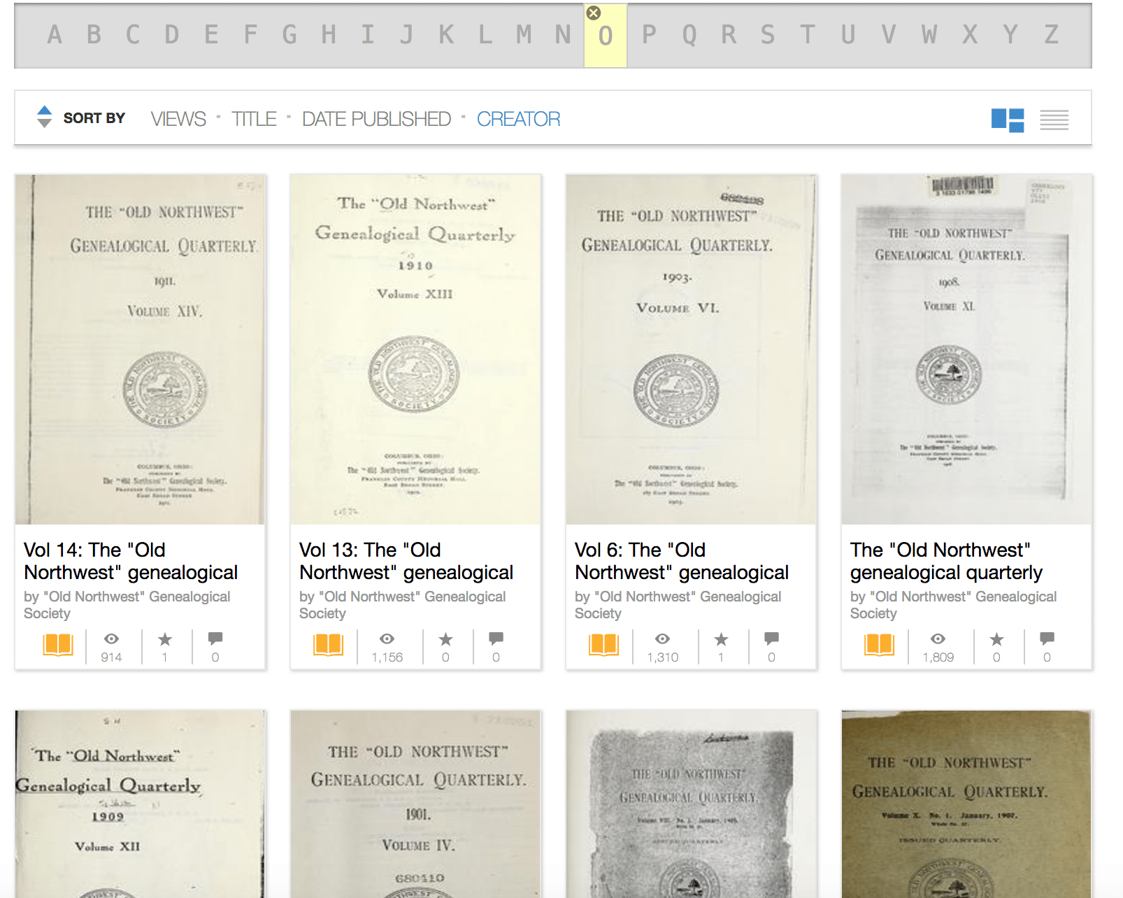 Internet Archive for Genealogy