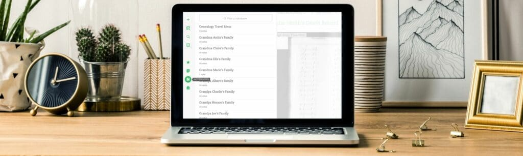 Evernote: Master Genealogy Organization in an Hour with One Online Program