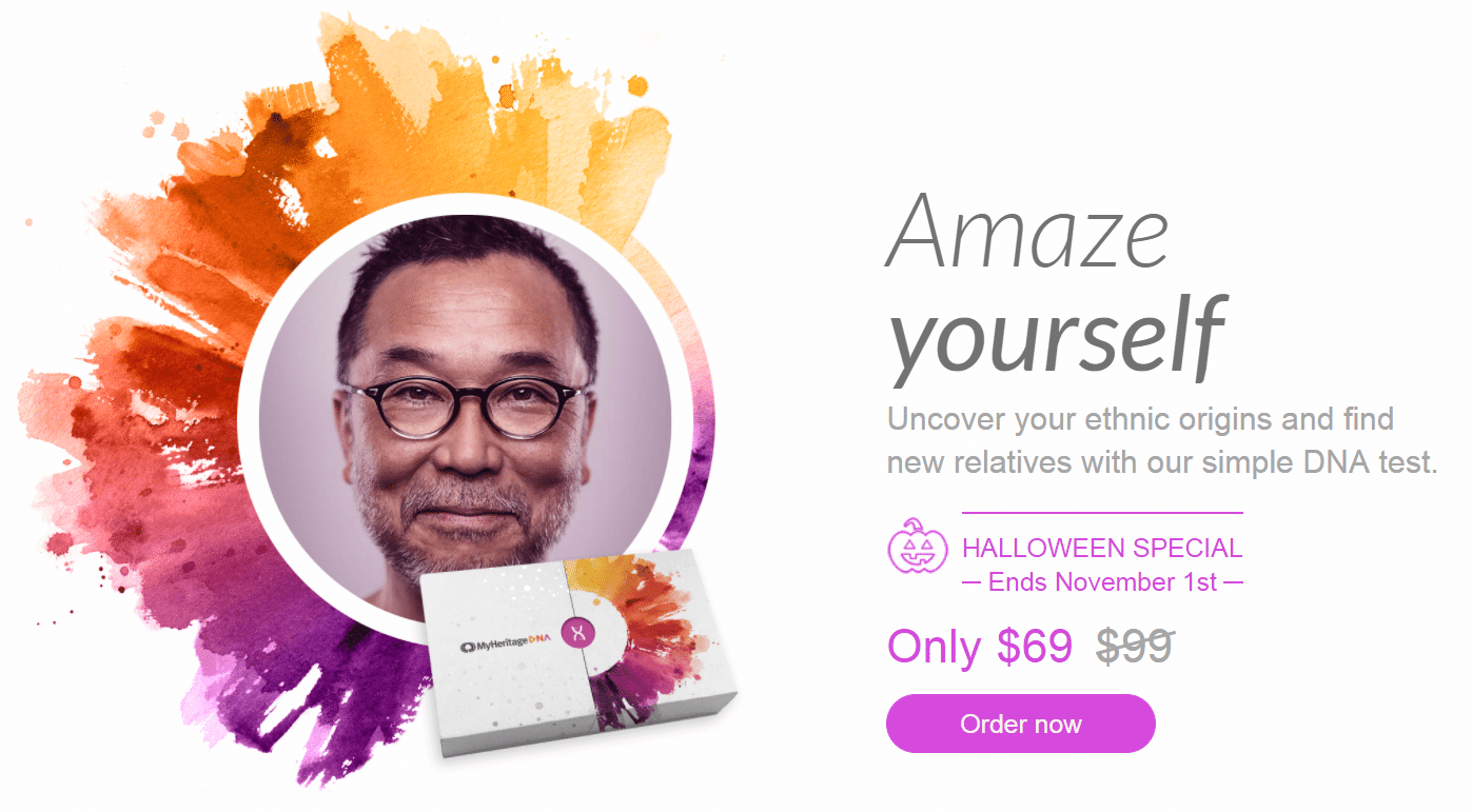 MyHeritage DNA Coupon Discount Example