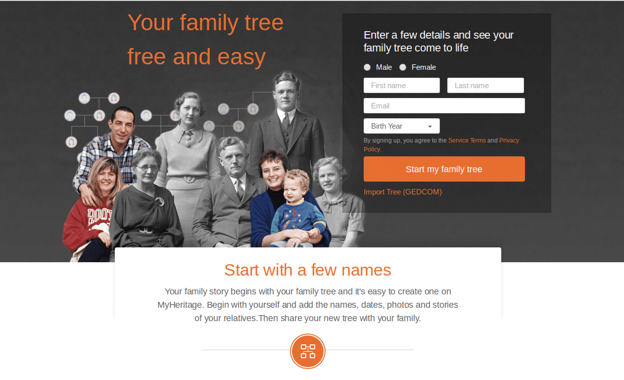MyHeritage Family Tree - 6 Best Family Tree Software Programs