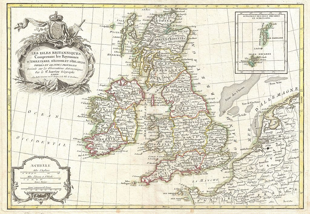 1771 Zannoni Map of the British Isles, The Absolute Beginner's Guide to UK and Irish Research: Find Your Ancestors in England, Wales, Scotland or Ireland