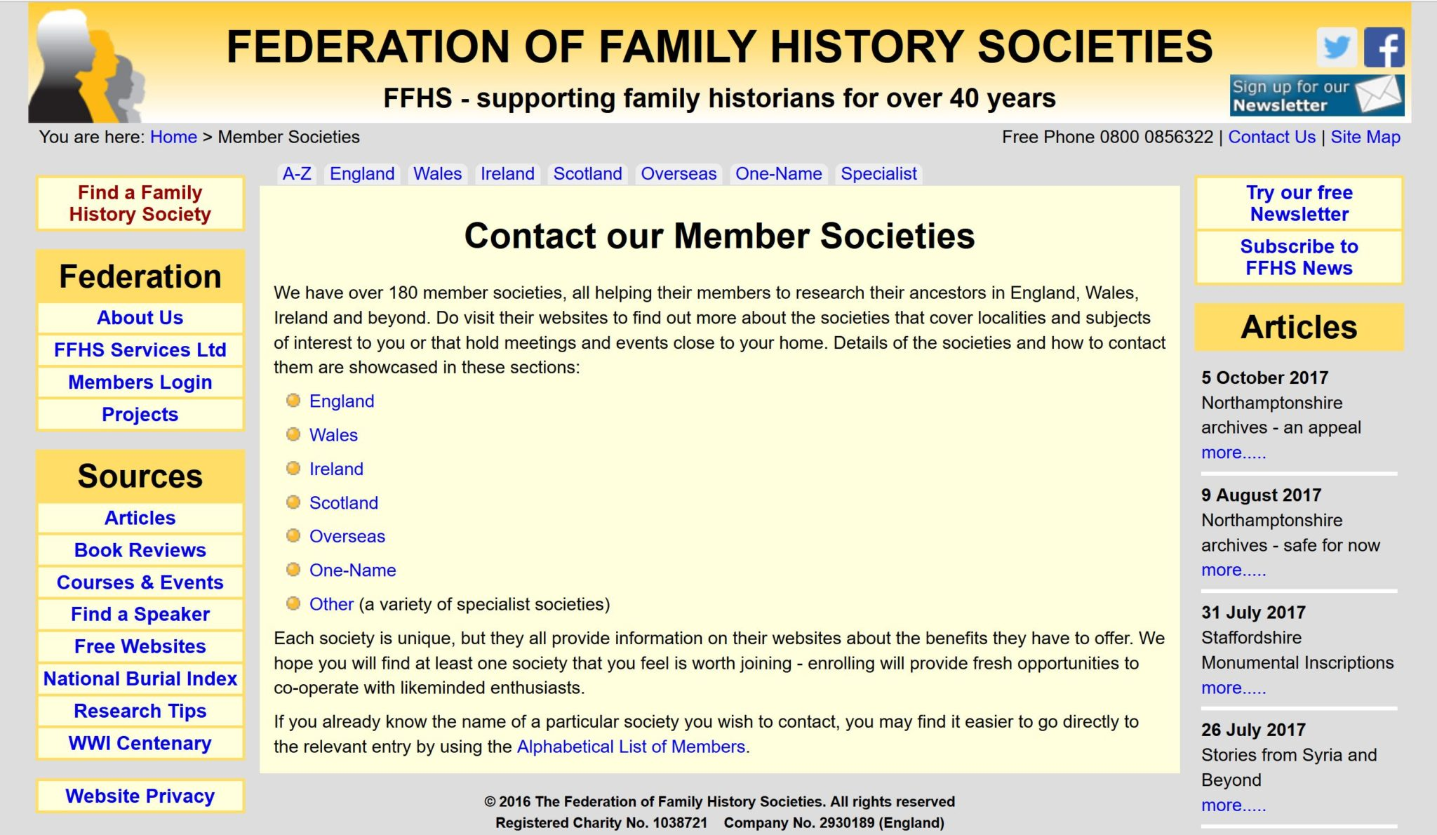 British, Irish, Scottish, Welsh Genealogy Research Guide, Federation of Family History Societies