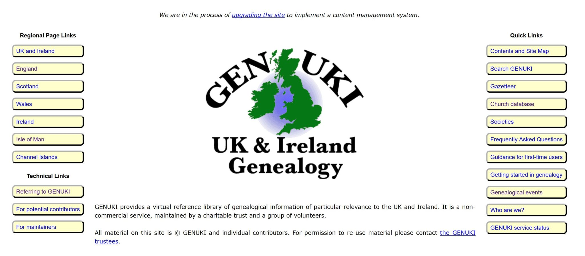 British, Irish, Scottish, Welsh Genealogy Research Guide, GENUKI