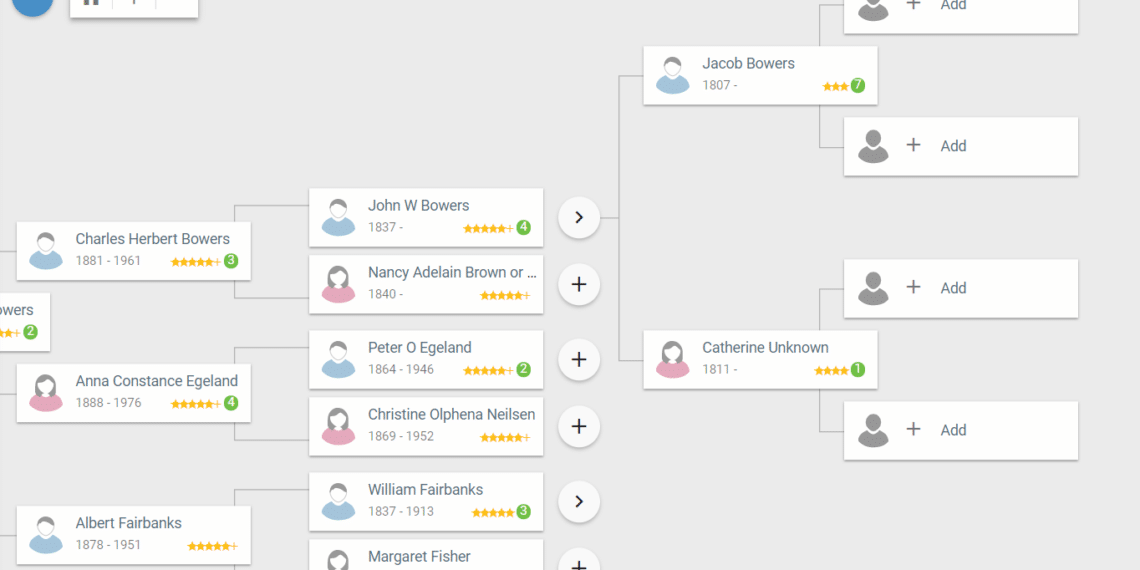 Free Family Tree Offers Record Hints Tons Of Tools And A Modern Design