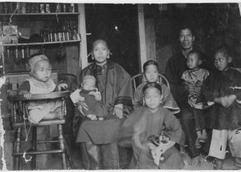 Chinese Genealogy Research, Chinese family in Honolulu, Hawaii 1893