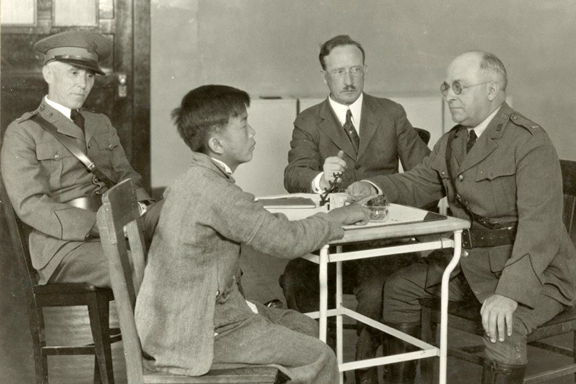 Chinese Genealogy Research, interview on Angel Island 1923