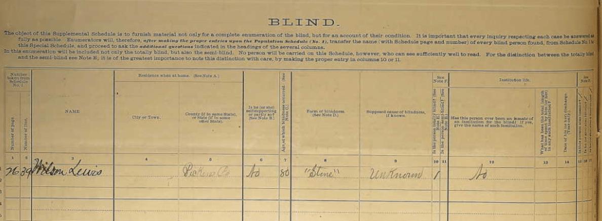 1880 DDD Schedule Wilson