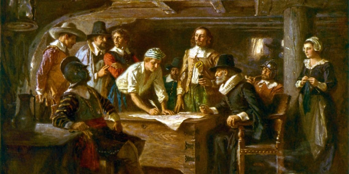 New Online Mayflower Collection Let's You Find Out if Your Ancestors are Descendants of the Original Pilgrims
