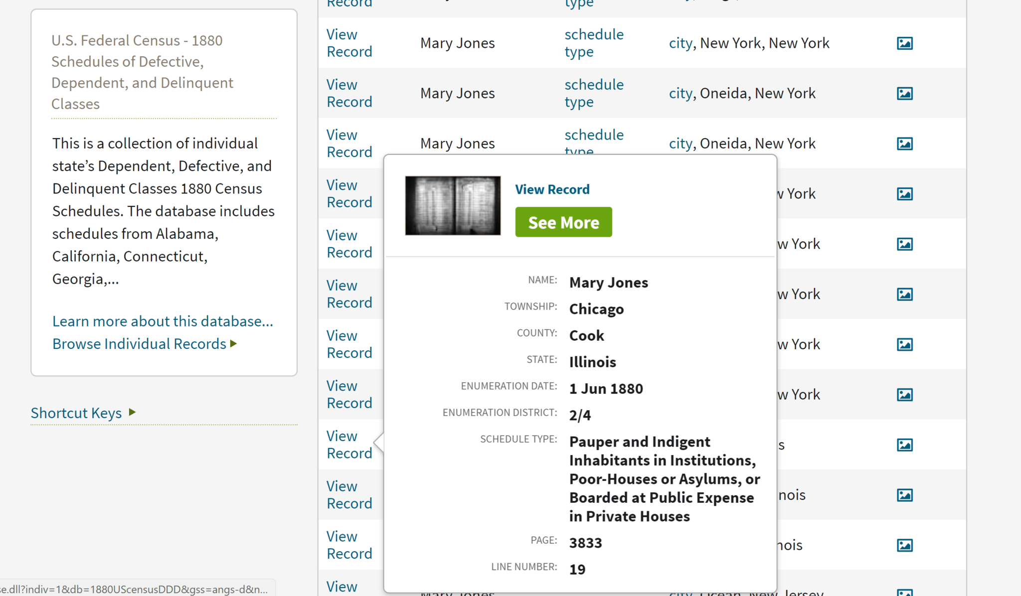 Record access without a paid subscription on Ancestry