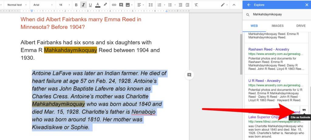 Cite Genealogy Source Explore Docs