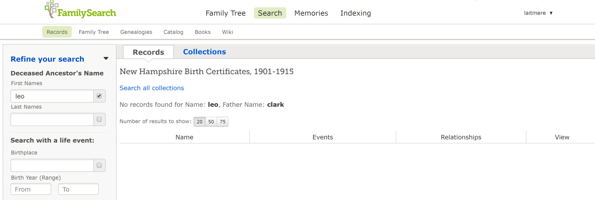 How to find ancestors by name 35