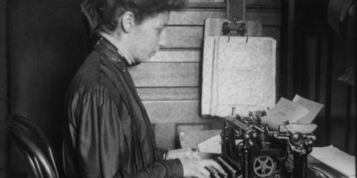 This Hidden Feature in Google Docs Will Help You Research Your Ancestors - Woman Typing