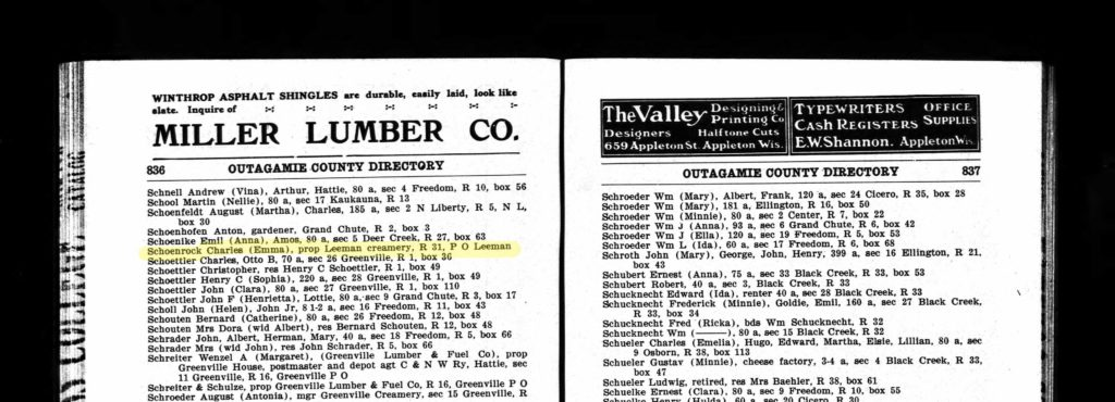 1910 city directory, occupational records for genealogy research