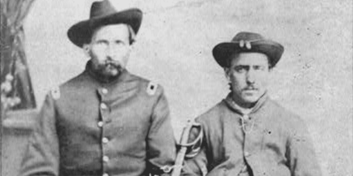 Civil War Records Available Free Fold3 - Two Union Soldiers, Library of Congress