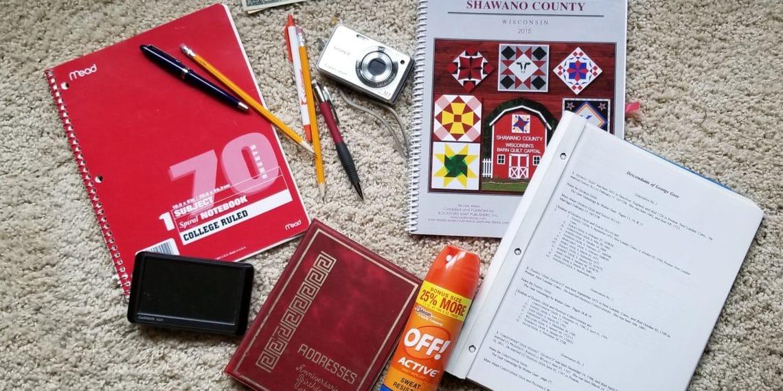 Genealogy Travel Kit for $25