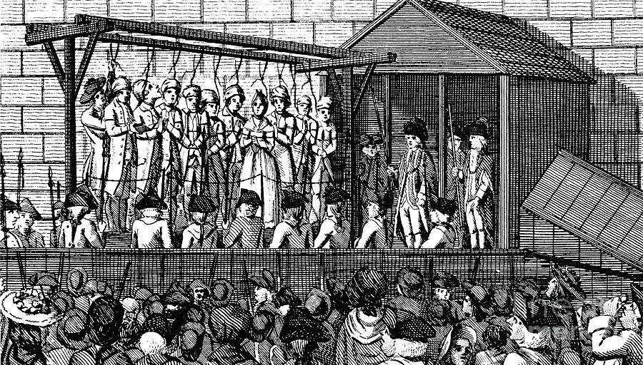 Old Bailey Online - Scaffold London c1750