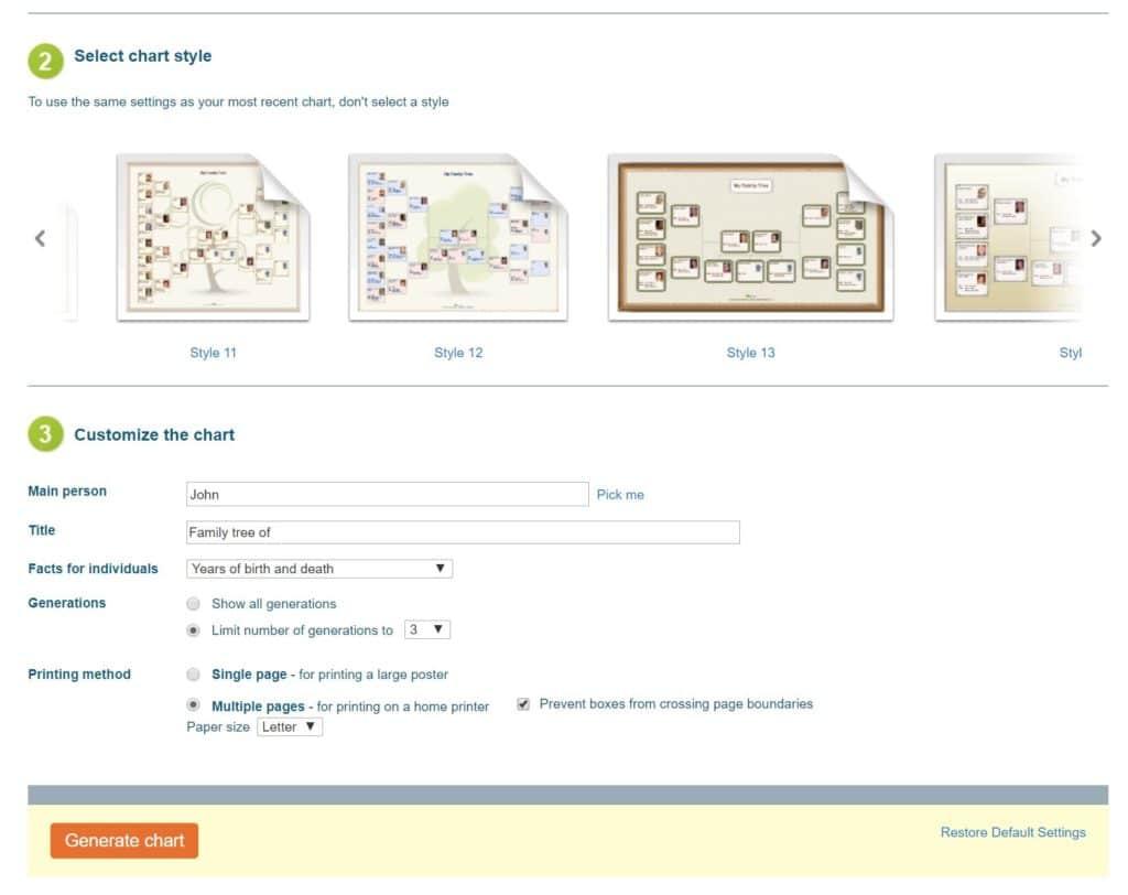 MyHeritage Print Family Tree 4