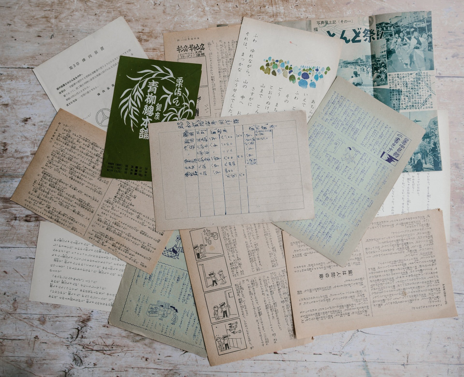 Simple ways to clear genealogy clutter fast, old letters on table